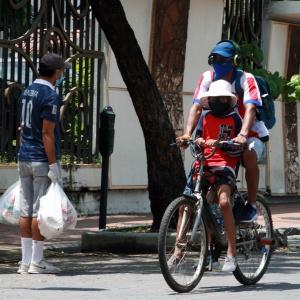 Bicicleta medio de transporte