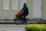 Ir de compras en bicicleta